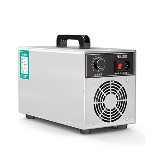 BBGS Profesional Comercial Generador de Ozono - Filtro de Aire de Ozono Dispositivo de Ozono Ozonizador con Temporizador para Habitaciones, Negocios, Automóviles Y Mascotas