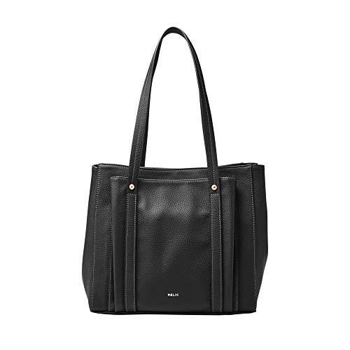 Relic by Fossil Women's Bailey Double Shoulder Handbag, Color: Black Model: (RLH2728001)