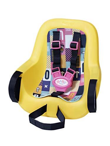 BABY born 830048 Fahrradsitz für 43cm Puppe - wird am Lenker befestigt - leicht für Kleine Hände, Kreatives Spiel fördert Empathie & Soziale Fähigkeiten, für Kleinkinder ab 3 Jahren