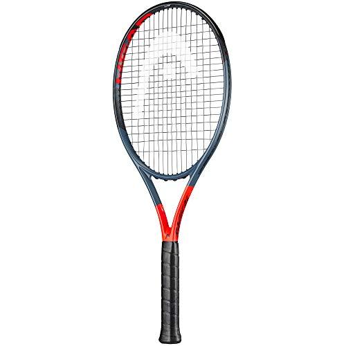 HEAD Tennisschläger Graphene 360 Radical Lite - besaitet - 16x19 anthrazit (201) L2