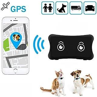 zhenyao Mini Pet GPS Tracker TK200Impermeabile IP66Cani/Gatti GPS Tracker TK200Realtime Tracking Allarme Batteria scari...
