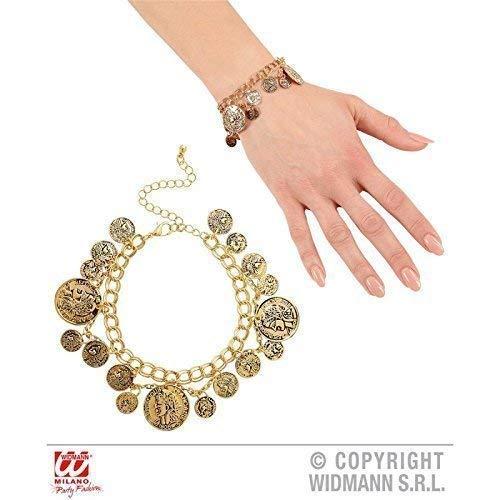 Lively Moments Goldfarbenes Armband / Armreif / Armschmuck mit Münzen
