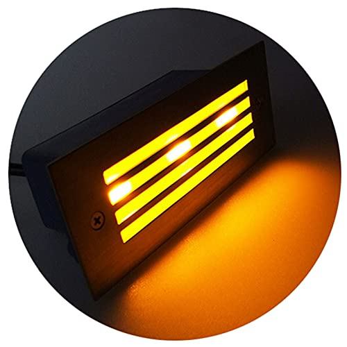 Focos Led Exterior Foco Jardin IP65 a Prueba de Agua y Alta Resistencia a la Compresión, Adecuado para Césped, Patio y Pared Exterior (Color : Warm Light, Size : C)