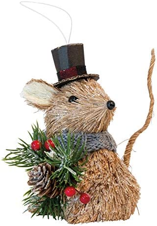 Boston International Decorative Christmas Tree Ornament 5 5 Inches Dickens The Mouse product image