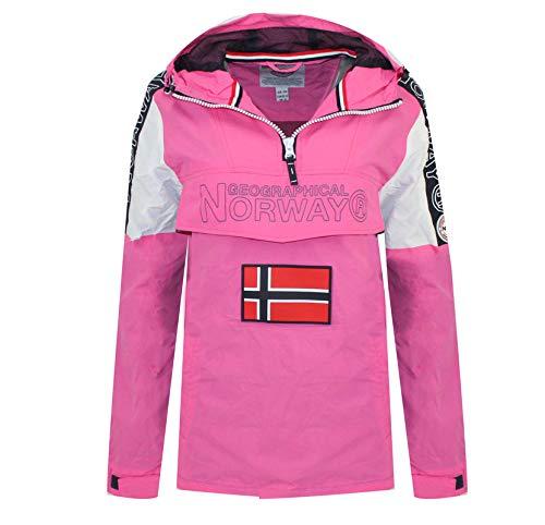 Geographical Norway Chaqueta ASTINA HALF ZIP de mujer ROSA LLAMATIVO M