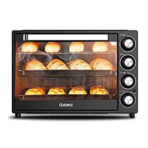 40L automatic electric oven, multifunctional household/commercial baking box, oven, upper and lower independent…