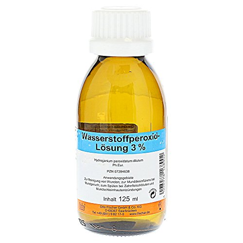Wasserstoffperoxid L�sung 3%, 125 ml