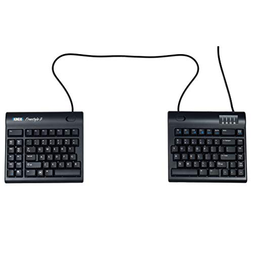 Kinesis Freestyle2 Ergonomic Keyboard for PC (20' Extended Separation)