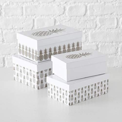 Paper Collection Muebles Hogar Accesorios DDecorativos Organización Contenedores Juego de 4 Cubos...