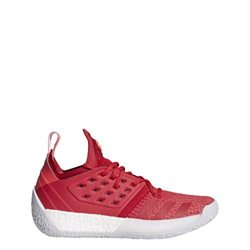 adidas Harden Vol.2 Pioneer Baloncesto de calzado 9.5 Choque Negrita para rojo 8 UK