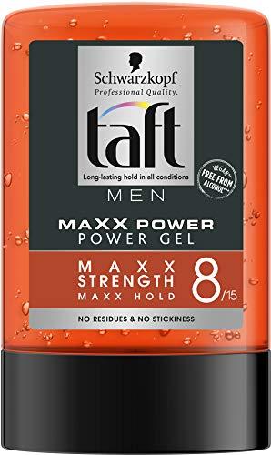 Schwarzkopf Taft - Gel 8 Maxx Power, Fijación ultra fuerte sin residuos, 300 ml