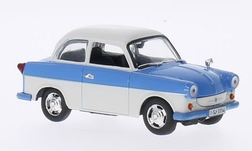 Trabant P50 Limo, weiss/hellblau, Modellauto, Fertigmodell, SpecialC.-75 1:43