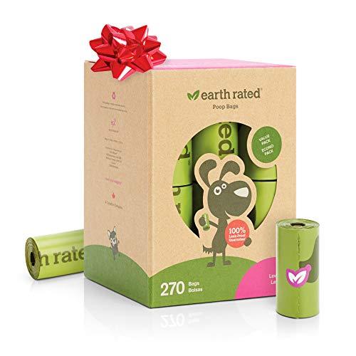 Earth Rated - Pack de bolsas para recoger excrementos de perro, Olor...