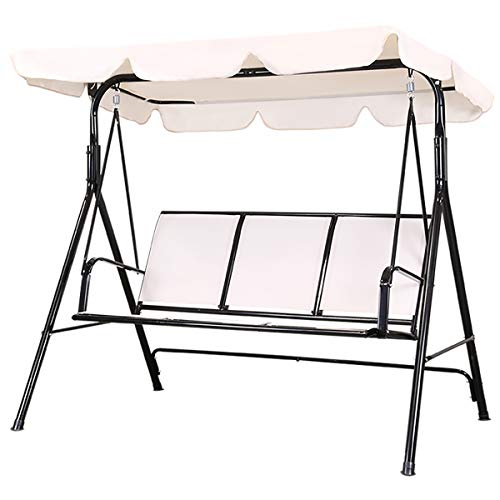 Flex HQ Patio Porch Swing Chair Canopy Outdoor...