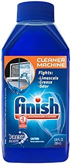 Finish Dishwasher Cleaner Solution Liquid, Liquid Fresh Scent, 8.45 Ounce