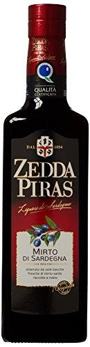 Mirto Rosso di Sardegna Likör 32 % 50cl Zedda Piras italien roter mirto Liköre