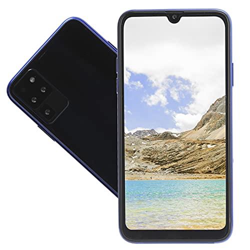 Xuzuyic Teléfono Inteligente Android 6.0 1.4 + 16G, función de Doble Modo de Espera de Tarjetas Dobles, batería de 4800 mAh, Funciones potentes como WiFi, GPS, Bluetooth y expansión de Memoria(Azul)