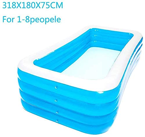 FFKL Fantasy Cool Inflatable Swimming Pool, Inflatable Children