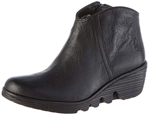 Fly London Pevo092fly, Botines para Mujer, Negro (Black 004), 40 EU