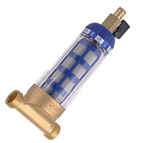Unbekannt Kupfer Wasserfilter Vorfilter für Hauswasserwerk und Gartenpumpe - DN20