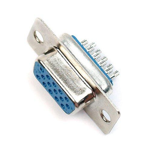 15-Pin weiblich D-Sub VGA Buchse Löten Stecker–Chassis Panel Monitor 's