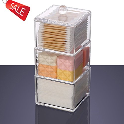 Boîte à bijoux coffret à maquillage bijoux et cosmétique beauty Case Boîte à Mallette/ coffrets/ boîte à maquillage bijoux et cosmétique beauty Case Coffrets boîte à maquillage beauty Case Organisateur Maquillage ( Size : 9.5*9.5*22.3CM )