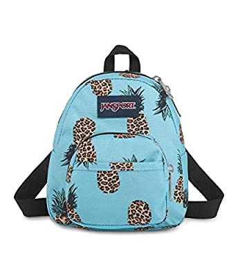 JanSport Quarter Pint Backpack - Stylish Mini Pack to Crossbody Day Bag, Leopard Pineapples