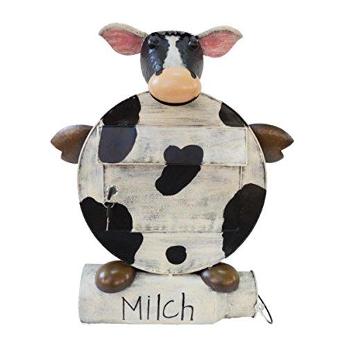 Briefkasten om Form einer Kuh