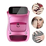 3D Stampanti Nail Pittura Macchina Portatile di Digital Art Nail Printer Macchina Smart Phone Wireless Controllo Wireless WiFi Transfer 100-240V per Nail/Fiore