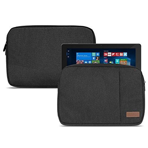NAUC Dell Venue 11 Pro 10.8 Zoll Tablet Tasche Schutzhülle Hülle Cover Hülle Schwarz