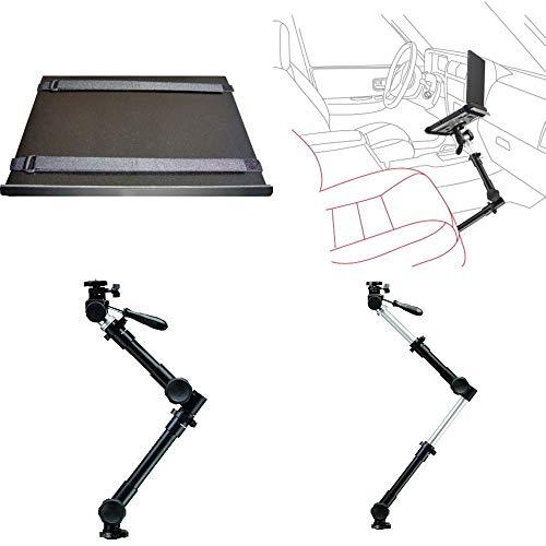 Onyx A-100N Aluminum Heavy Duty Car Mount Holder for Laptop Notebook Camera 3.5kg Capacity 65-97cm Extendable