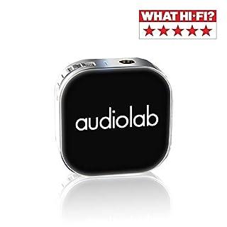 Qualità audio Hi-Fi: DAC ultravioletto CS43130 ultra Hi-Res CS43130, Bluetooth e SRC aggiuntivo, l'amplificatore per cuffie wireless Audiolab amplifica la sorgente audio per prestazioni di qualità HiFi (32 bit 384K), offre una qualità audio Hi-Fi wir...