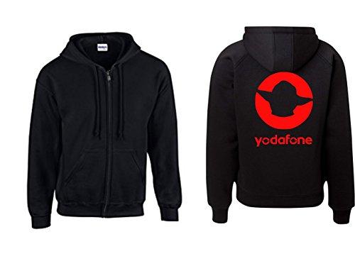 Textilhandel Hering Jacke - Yodafone (Schwarz, L)