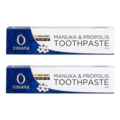 コサナ NZ産プロポリス&マヌカハニー歯磨き粉 100g×2個