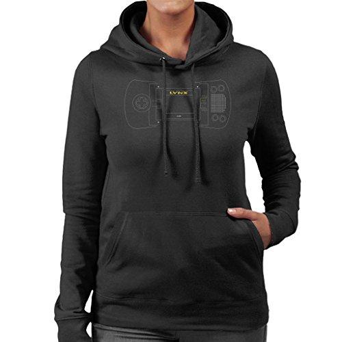 Atari Lynx Handheld Gaming console Women's Hooded Sweatshirt