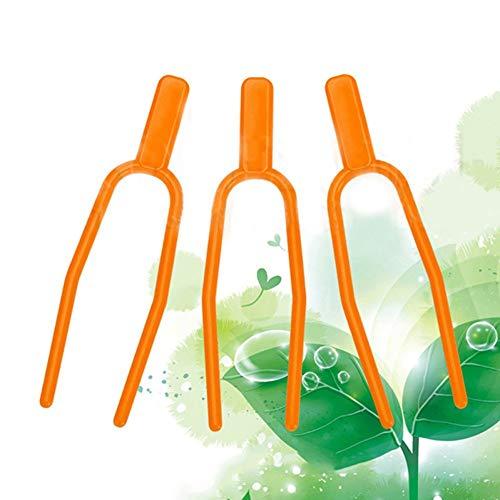 Hpybest Tuingereedschap 50 st Plastic Kwaliteit Plant Clips Stolons bevestiging Bevestiging Fixture klem aardbei vork Boerderij Clip
