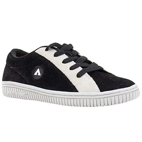 Airwalk Mens Random Black Athletic Skate Shoes 9.5