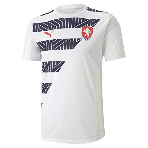 PUMA Tschechien Herren Stadium Trikot Puma White-Peacoat XXL