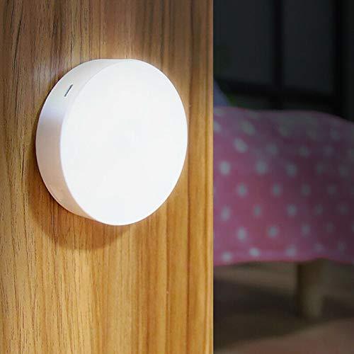 Lámpara LED 6 W recargable USB sensor movimiento luz nocturna armario muebles coche