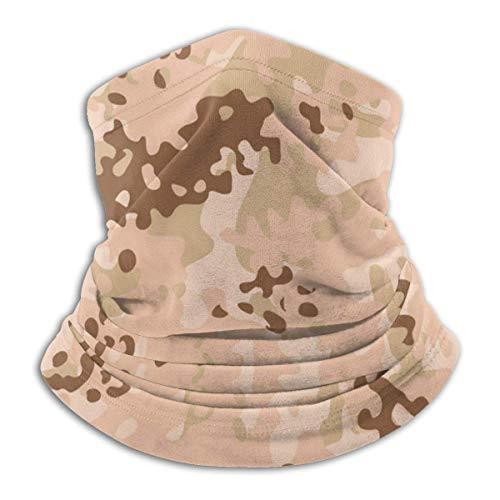 Fashion Balaclava Gesichtsschal Modern Flectarn Camouflage Nahtlose Muster Nahtloser Mikrofaser-Halswärmer