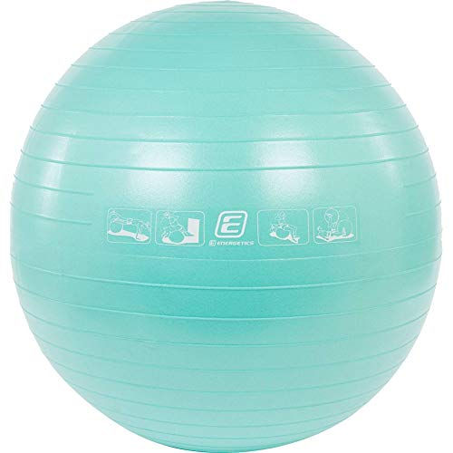 ENERGETICS Unisex – Erwachsene Basic Gymnastik-Ball, Mint Dark, 55