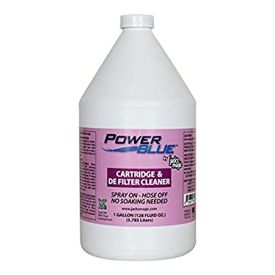 Jack's Magic Power Blue Instant Spray Cartridge and DE Filter Cleaner Size: 1 Gallon