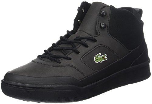 Lacoste Herren Explorateur SPT Mid 417 2 Cam Hohe Sneaker, Schwarz (Blk/blk), 40.5 EU