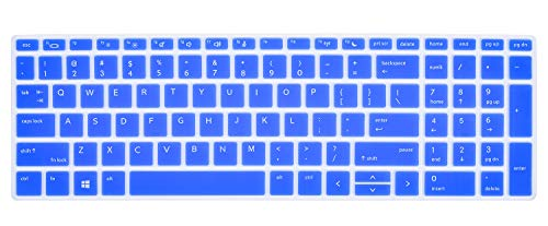 CaseBuy Keyboard Cover for HP ProBook 450 G5 G6 15.6 inch/HP ProBook 455 G5 G6 15.6 inch/HP ProBook 650 G4 G5 15.6 inch, HP ProBook Keyboard Cover 15.6 inch, Blue