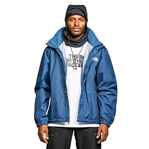 The North Face M Resolve Jacket, Giacca Uomo, Blue Wing Teal, S