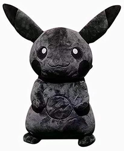 Pokemon Dark Black Pikachu Peluche 35cm, Peluche Regalo De CumpleañOs De Halloween Para NiñOs NiñO NiñA MuñEca Coleccionistas Presenta