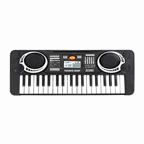 Find Bargain Kids Piano Keyboard 37 Keys Music Piano Keyboard with 4 Drums Sound Educational Electro...