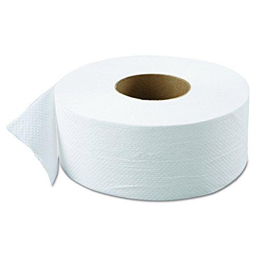 "Green Haritage 800 9"" Diameter x 3.42"" Width, 2-Ply Jumbo Roll Bathroom Tissue (Case of 12)"