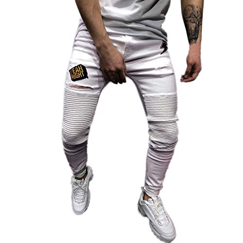 Minikimi heren broek Cargo Chino jeans stretch jogger sportbroek slim-Fit joggingbroek rits denim jeans cargobroek streetwear