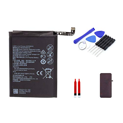 Akku kompatibel mit Huawei P20 Pro inkl. Werkzeugset | 3900 mAh | DIY Reparaturset